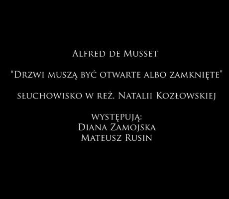 Słuchowisko na podstawie Musseta